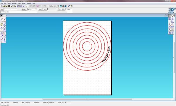 Circle Template 2d Design