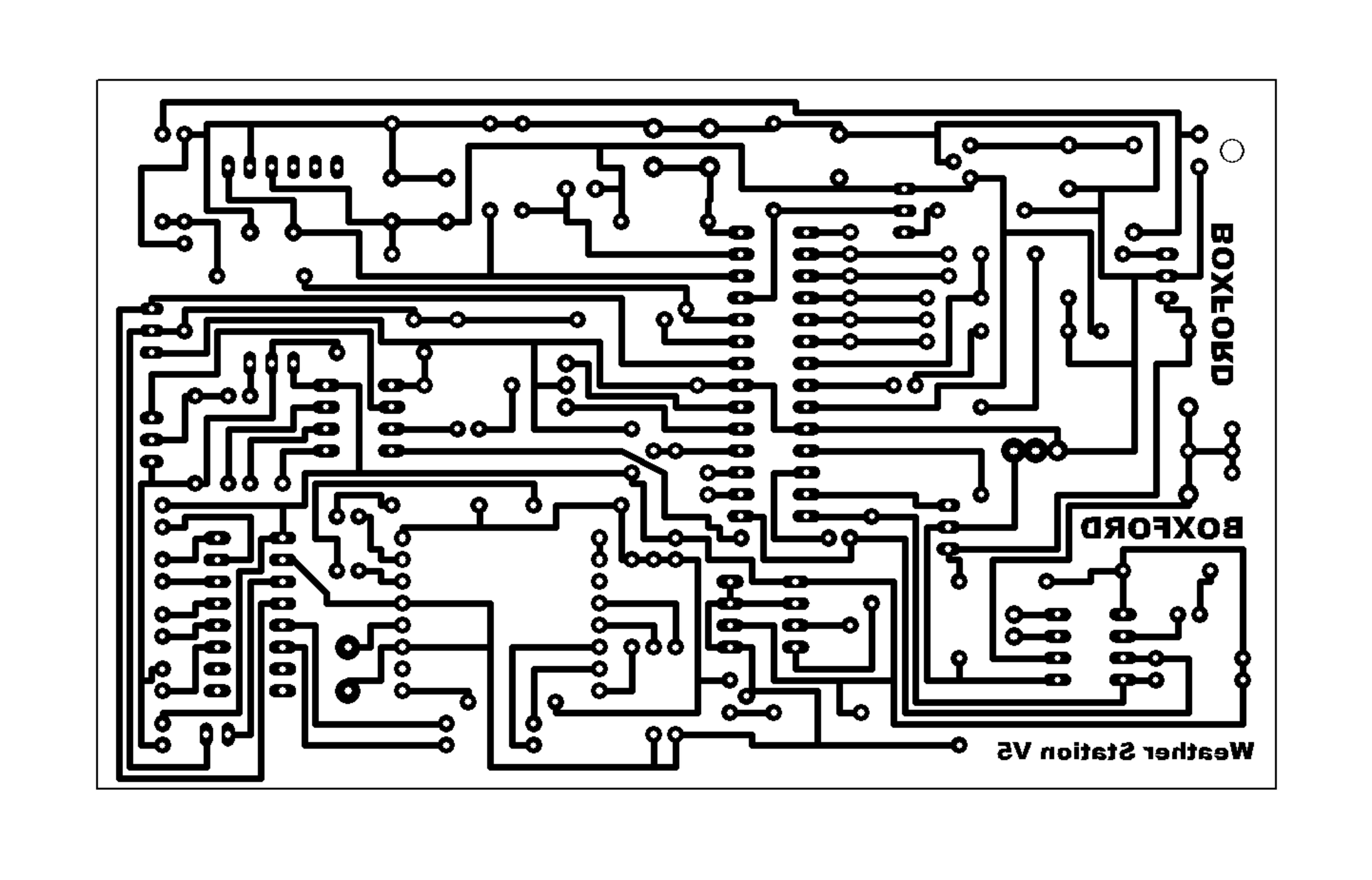 Boxford Resources System Rain Detector Circuit Schematic Diagram Artwork
